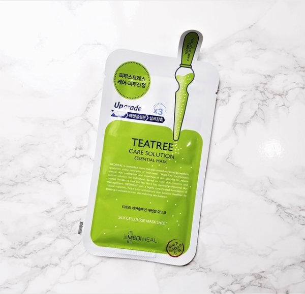 Mặt nạ tinh chất trà xanh Mediheal ngăn ngừa mụn 24ml