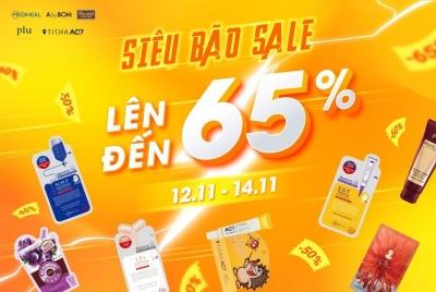 MEDIHEAL CHUẨN BỊ ĐÓN CHÀO SIÊU BÃO - SALE 50% ĐẾN 65% TỪ 12/11 ĐỀN 14/11