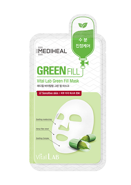 Mediheal Green Fill Vital Lab Green Fill Mask