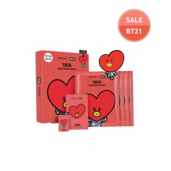 MEDIHEAL | BT21 TATA Face Point Mask