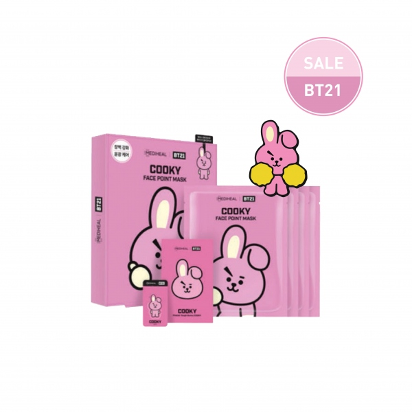 MEDIHEAL | BT21 COOKY Face Point Mask