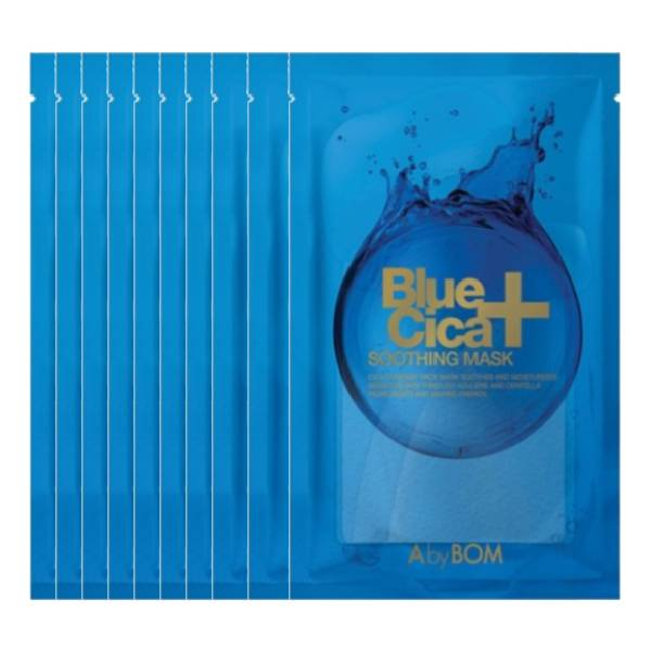 [Combo 10] Mặt nạ cấp ẩm Blue Cica AbyBom