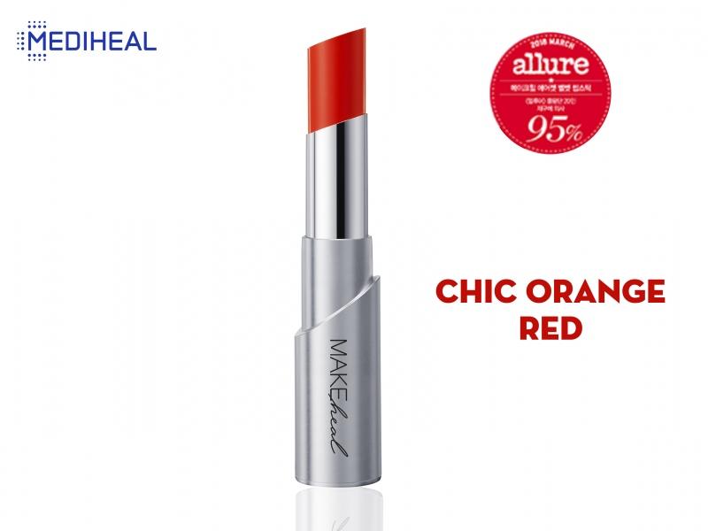 Son Mediheal #OR0702 - CHIC ORANGE RED